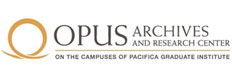 Logo for Opus Archives and Research Centre